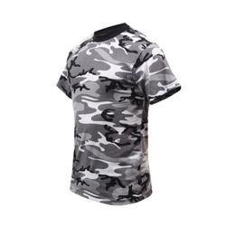 [로스코] 컬러드 카모 티셔츠 (시티 카모)