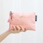 태슬포함 D.LAB NY Pouch - 핑크 코스모스 코기_b