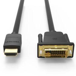 벤션 무산소 양방향 HDMI to DVI 케이블 2m-DVI듀얼