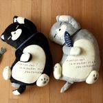 쿠스구루 쉬포 고양이 봉제인형 쿠션 (2color)