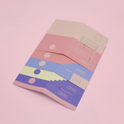 감정선 엽서카드 세트