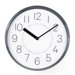 티니오픈메탈벽시계 (BLACK)