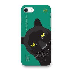 검은자바표범 멸종위기동물 케이스 아이폰7