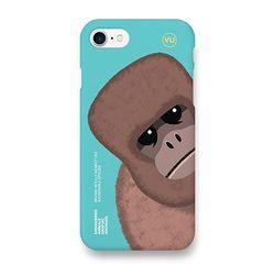 갈색 양털 원숭이 멸종위기동물 케이스 아이폰7