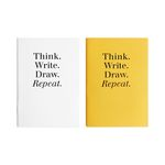 POCKET NOTEBOOK - YELLOW&WHITE