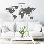 The World Large - 큰 모던 월드맵(G)