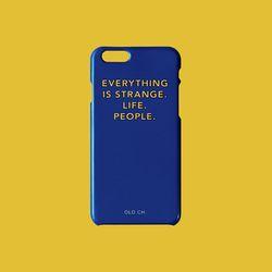 SUB Phone case - WEIRD. Blue