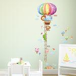 Animal Hot Air Balloons Height Chart-열기구키재기