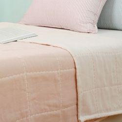 프리미엄 6중거즈 여름이불 - 핑크 L