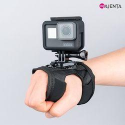 고프로 손목스트랩손목마운트 360도 회전 가능