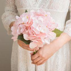 로맨틱 핑크 수국부케