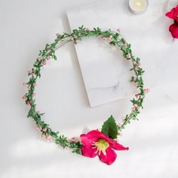 오리엔탈 헬레보루스 들꽃화관