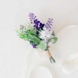 라벤더 허브 들꽃팔찌