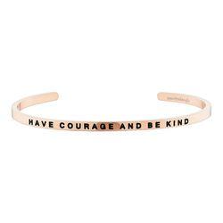 [만트라뱅글] Have Courage and Be Kind - 로즈골드