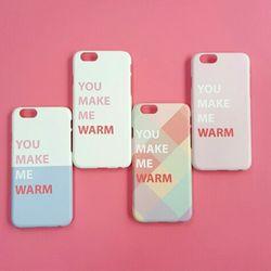 YOU MAKE ME WARM 스마트폰케이스