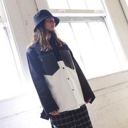 락싸이코 피유 포켓 오버핏 긴팔셔츠