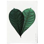 패브릭 포스터 F081 식물 나뭇잎 하트 [중형]