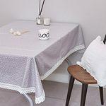 방수 식탁커버 시아블루 (2인)