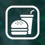 매장 안내 스티커 LMSI-014 픽토그램 음식물 반입가능