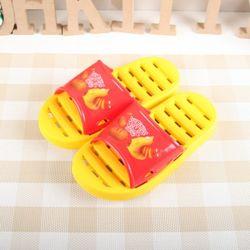 라바 PVC 아동욕실화_옐로우 3254