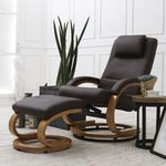 엘린 회전 안락 의자 암체어(Brown)