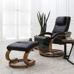 엘린 회전 안락 의자 암체어(Black)