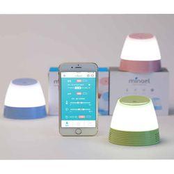 미나엘 터치 수유등 무드등 온습도계 (LED)