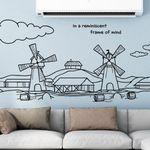 cj739-풍차가보이는풍경그래픽스티커