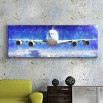 cu096-비행기의꿈대형노프레임액자