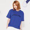 스페이스에이지 아치 로고 티셔츠 (블루)