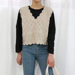 Lovely kint vest