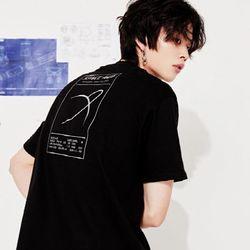 스페이스에이지 새턴 티셔츠 (블랙)