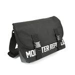 몬스터 리퍼블릭 REPLACEMENT MESSENGER BAG  SILVER