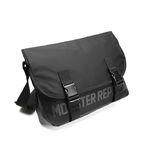 몬스터 리퍼블릭 REPLACEMENT MESSENGER BAG  BLACK