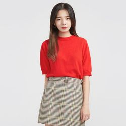 attractive half knit