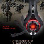 브리츠 K35GH 게이밍 헤드셋 밀폐형 헤드폰 안전포장