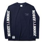 자니카슨 롱슬리브 로고 티셔츠 - NAVY