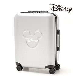 [Disney] 미키 캐릭터 쓰리써클 캐리어 20인치 실버