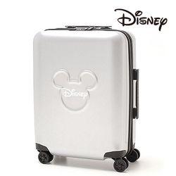 [Disney] 미키 캐릭터 쓰리써클 캐리어 24인치 실버