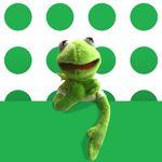 커밋 와이어 봉제인형 + 반팔T kemit the frog