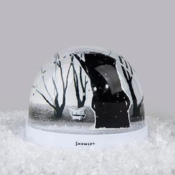 SNOWCAT SNOWBALL (WINTER TREE)