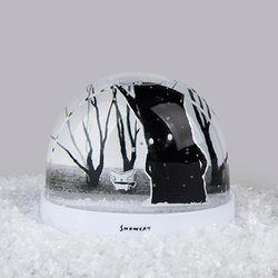 SNOWCAT SNOWBALL (WINTER TREE)