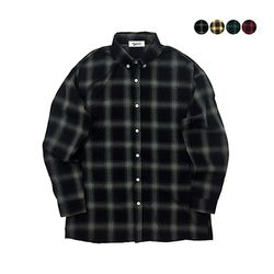 Falling In Check Shirt (4color)(unisex)