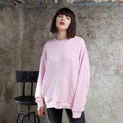 소프트 코쿤 스웻셔츠 핑크
