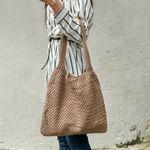 [로코식스] knit mini tote bag토트백