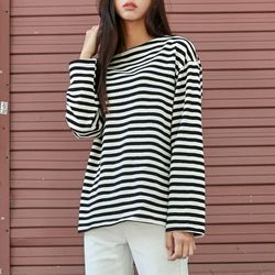 [로코식스] stipe t-shirts티셔츠