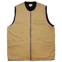 WRITERS HEAVY VEST [Beige]