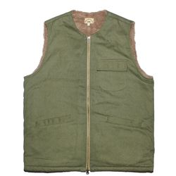 WRITERS HEAVY VEST [khaki]