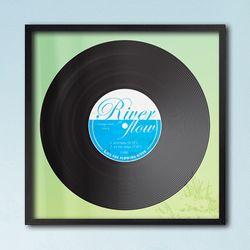 LP 메탈 액자 - river flow