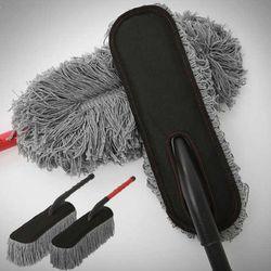고급 항균 평형 먼지털이개 (블랙 레드)